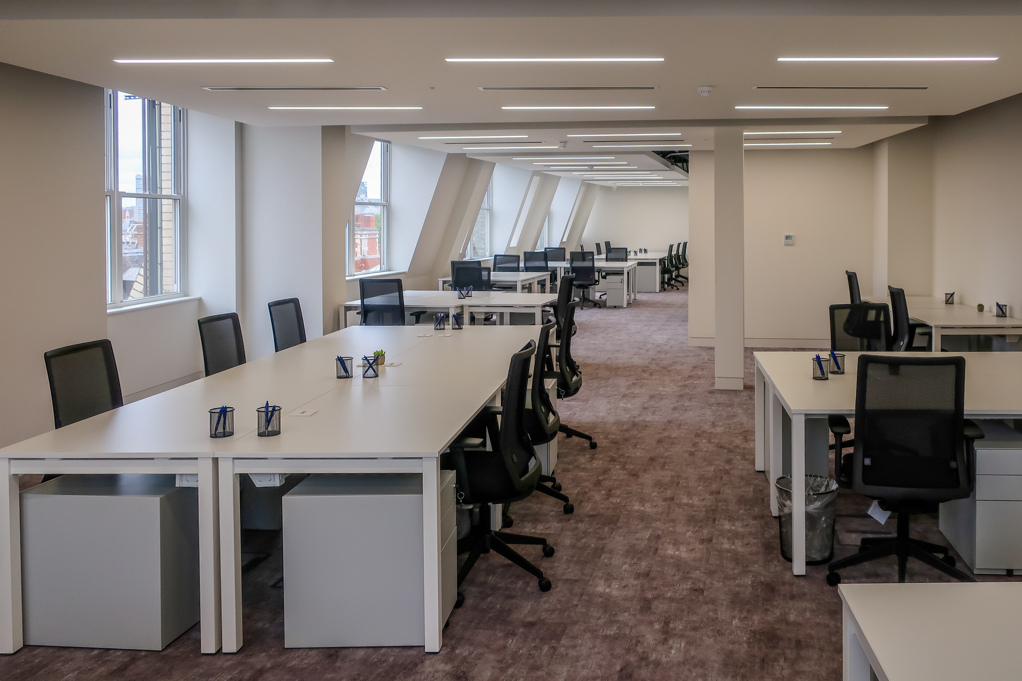 Serviced Offices – Central London – Fitting Out