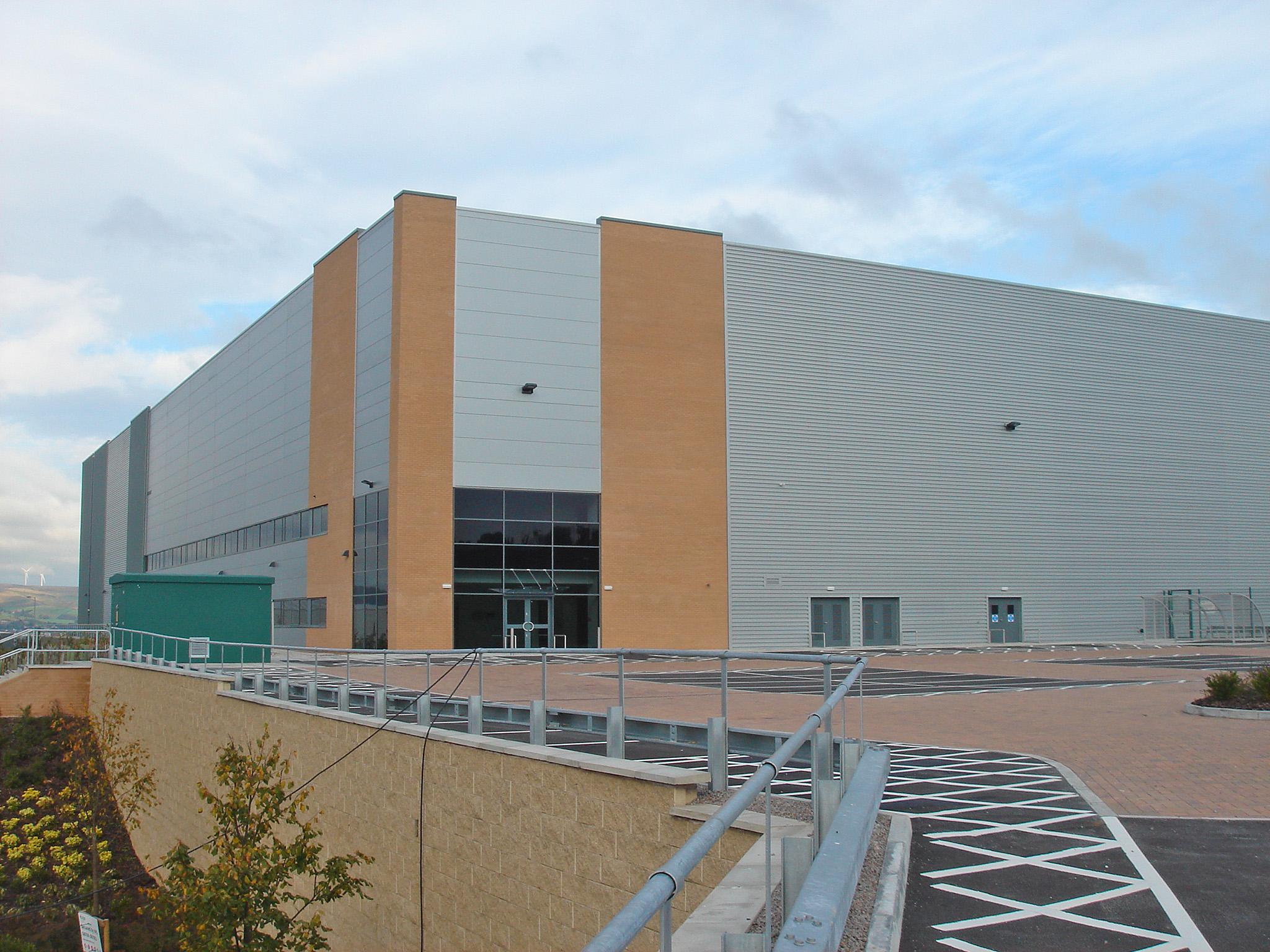 Distribution warehouse – Greater Manchester – Development